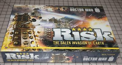 Doctor Who Risk The Dalek Invasion Of Earth Family Fun Board Game New Sealed!