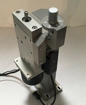 Precision Z Axis Stage With Adjustable Positioning Sensor