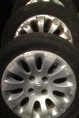 """15"""" Citroen Picasso Alloy Wheels With No Tyres X4"""
