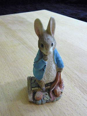 Peter Rabbit with Onions from The World of Beatrix Potter by FW & Co.
