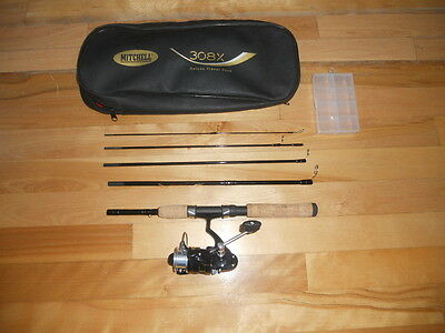 Vintage fishing Rod Mitchell 308 Deluxe Travel Pack, N Mint  rods reels n deals