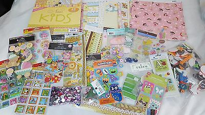 Scrapbook Lot Stickers and more