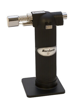 Butane Torch Jewelers Large Flame Nozzle Built In Ignition Home Hobby Culinary