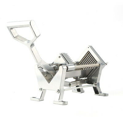Potato French Fry Fruit Vegetable Cutter Slicer Commercial Quality 3Blades US KN