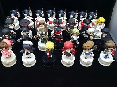 CLAMP no Kiseki Chess Pieces 36 / Vol.1-12 Set USED from Japan
