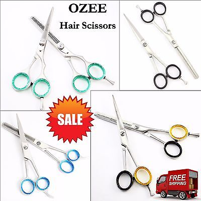 Professional Salon Hairdressing Hair Cutting Thinning Scissors Shears Barbers