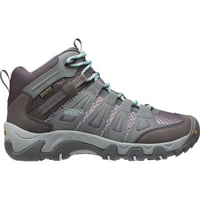 Keen Oakridge Hiking Boots - Womens, Grey/Purple, 6