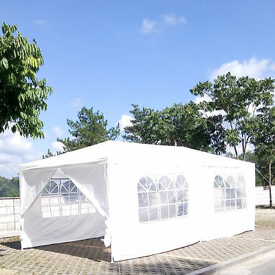 3X6M Canopy Wedding Party Tent Gazebo Marquee Pavilion w/6 Side Walls