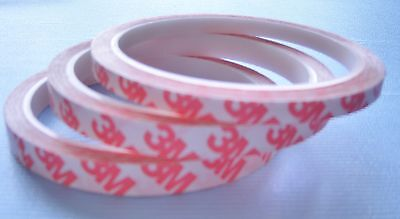 3M Double Sided Craft Tape Strong Super Sticky Clear Craft Tape (6MTS) 3M