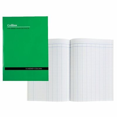Collins A24 A4 Series Analysis Book 14 Money Column - 10214
