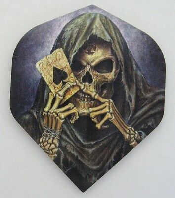 "Alchemy Extra Strong Dart Flights ""Reaper's Ace"""