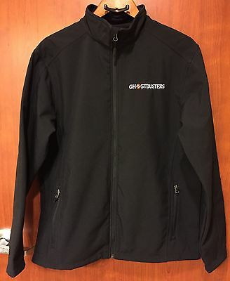 ☀New☀Ghostbusters Movie Promotional Polyester Jacket L☀Premier