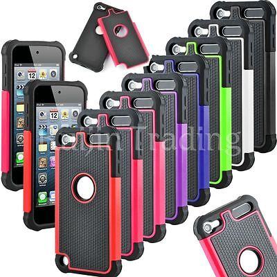 Triple Shockproof Rugged Impact Armor Hard case Cover For iPod touch 5 / Touch 6