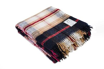 SALE Merino Wool Picnic Blanket Size 160x200 cm PERFECT FOR GIFT ! NATURAL