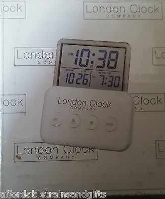london digital modern travel alarm  clock collectable gift