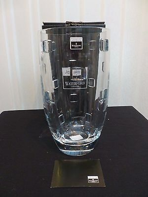 Waterford Crystal John Rocha Geo 10 Inch Bouquet Vase New Boxed