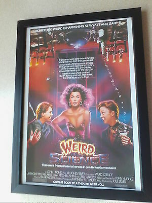 Weird Science (1985) framed movie poster
