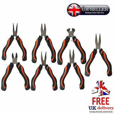 Mini Pliers Beading Jewellery Tool Precision Modelling Wire Hobby Craft