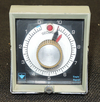 Eagle Signal Timer Cycl-Flex 10 Seconds HP515A6 - White Dial, Black Background