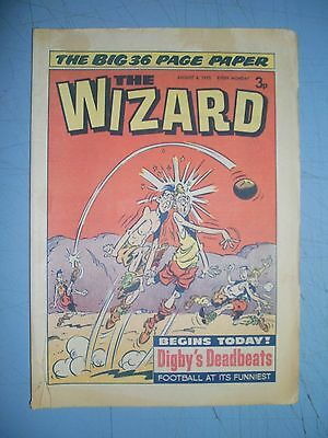 Wizard issue dated August 4 1973
