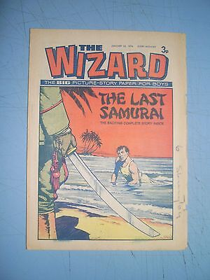 Wizard issue dated January 26 1974