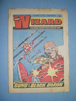 Wizard issue dated December 14 1974