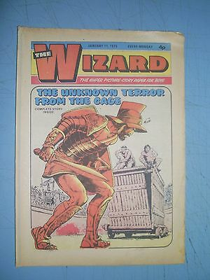 Wizard issue dated January 11 1975