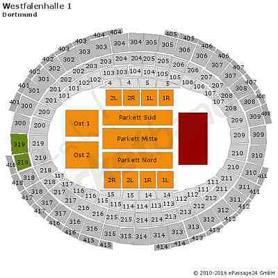 The Kelly Family Dortmund Tickets 21.05. TOP SITZPLATZ TICKETS