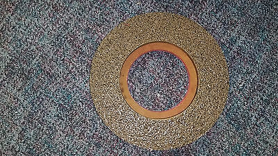 """Nylogrit 17"""" rotary brush shower feed scrubber instalock pad driver 30357 5"""""""