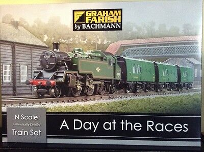 Graham Farish 370-185 A Day At The Races Train Set. N Scale.