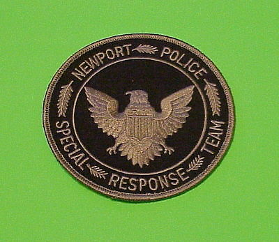 Newport Rhode Island  Ri  Special Response Team  Police Patch   Free Shipping!!!
