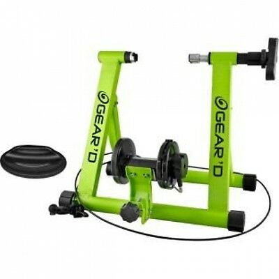 Gear' D Cycle Magnetic Turbo Trainer 7 Resistance Levels - New In Box