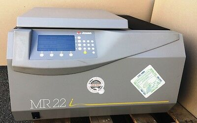 Jouan MR22i Refrigerated Centrifuge w/ Rotor TESTED WORKING
