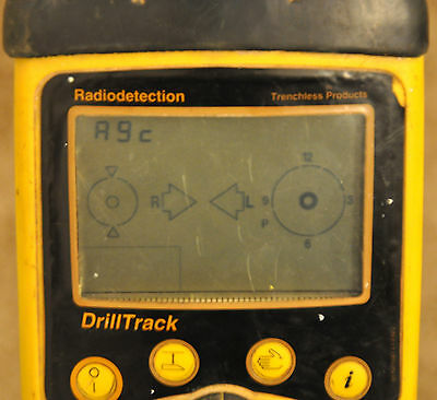 RadioDetection DrillTrack Detector Subsite Pipe Cable Underground Locator