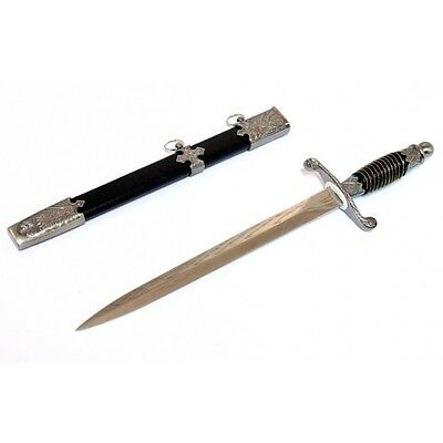 "Defender 14.5"" Roman Collectible Stainless Steel Style Dagger with Sheath"