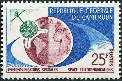 CAMEROON 1963 25f maroon, blue and green SG338 mint MNH FG