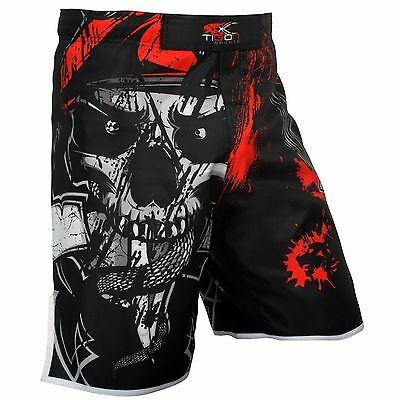 Pro MMA Gel Fight Shorts UFC Grappling Short Kick Boxing Muay Thai Cage Pants