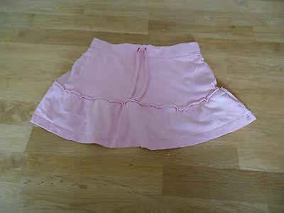 Girls, Light Pink, Beach Skirt with Built-in Shorts. Age 3 Years