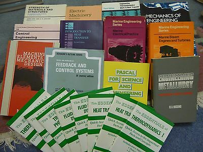 Great Selection of Mechanical and Marine Engineering Books - Job Lot