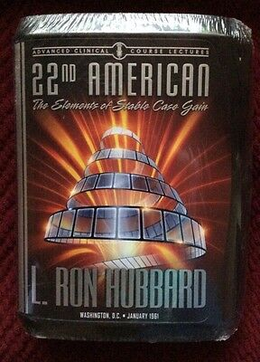 L. Ron Hubbard Scientology 22nd American Advanced Clinical Course Lecture Sealed