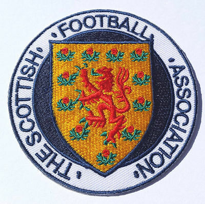 Scotland Football Crest Patch Embroidered Badge World Cup 2018 Scottish FA DIY