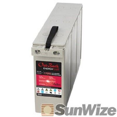 REDUCED PRICE! Battery, 12V, 170Ah at C/100, AGM, Outback 170RE