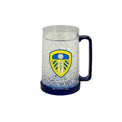 Leeds United Football Club Official Crested Freezer Mug (Ideal Xmas gift)