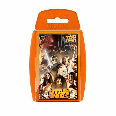 Brand New Star Wars 30 Classic Characters Top Trumps Card Game