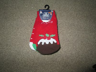 3 pack of infant christmas socks age 12-24 months