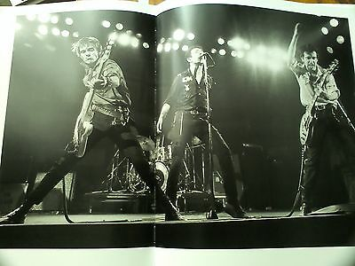 The Clash Live uk 1979 Double Page from Music Book 35x23cm