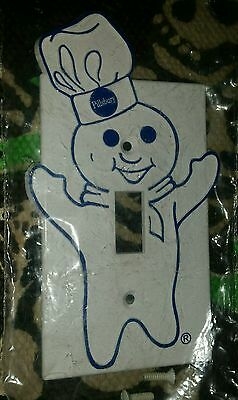 Pillsbury Doughboy Light Switch Cover Dough Boy SEALED NEW IN PACKAGE.