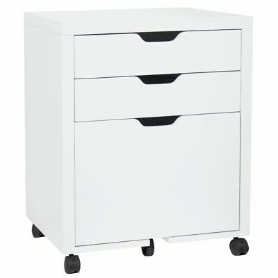 Horsens 3 Drawer Filing Pedestal White