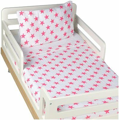 aden + anais Classic Toddler Bed in a Bag - Fluro Pink Kids Bedding Sets