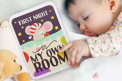 Baby Milestone Cards (x35) Gift Set- 3in1 Brand New In Keepsake Box with Poster